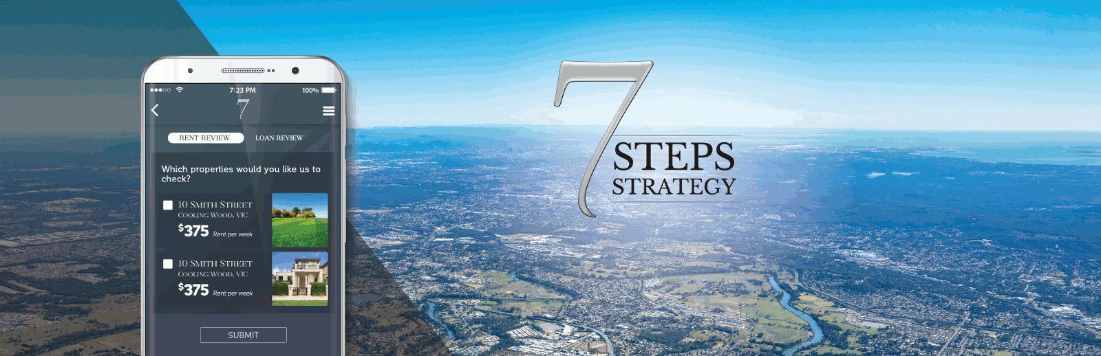 7 Steps Strategy application